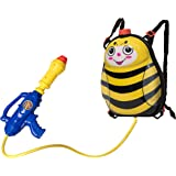 Toyrifik Water Gun Backpack Water Blaster for Kids -Water Shooter with Tank Bumble Bee Toys for Kids- Summer Outdoor…