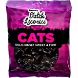 Gustaf's Dutch Licorice Cats, 5.2-Ounce Bags (Pack of 12)