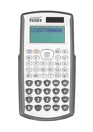 texet albert easy view scientific calculator albert ev s amazon rh amazon co uk  texet albert scientific calculator manual