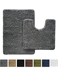 Shop Amazoncom Bath Rugs - Gray bathroom runner rug for bathroom decorating ideas