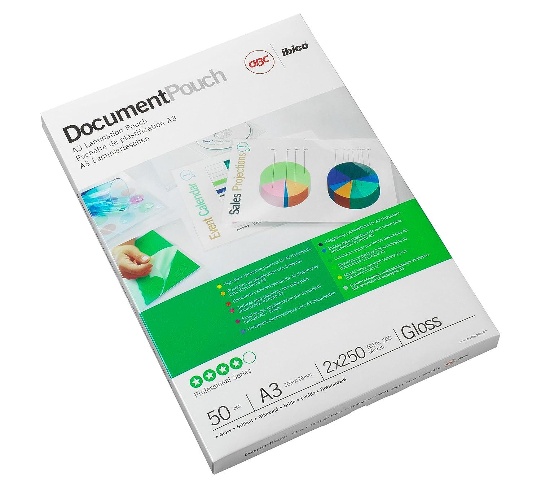 Rexel Carteras A3 (303X426) 2X250 Mic (Caja 50) - Plastificador: Amazon.es: Oficina y papelería