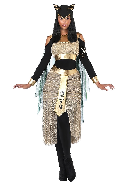 Frauen ägyptische Göttin Bastet Kostüm - - - S 2dcebe