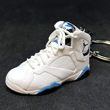 hot sales 094bd a582b Amazon.com : Air Jordan VII 7 Retro French Blue White UNC OG ...