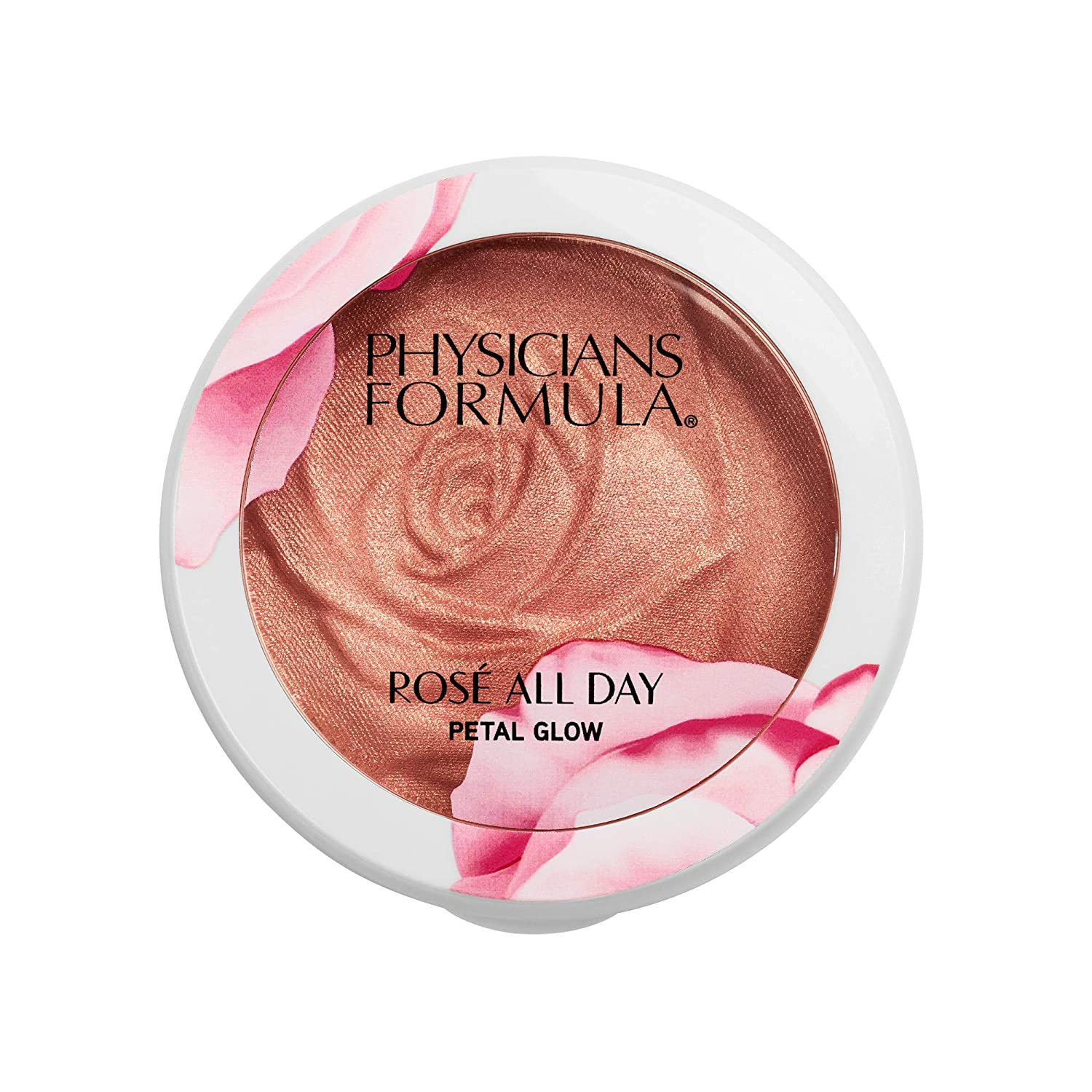 Physicians Formula Rose All Day Petal Glow, Shimmering Rose, 0.32 Ounce