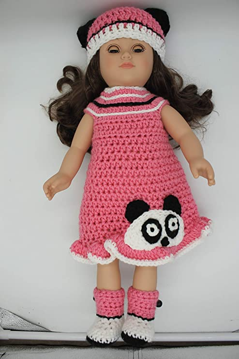 Handmade Fashion Dress Pink with White Dots Fit Tank Dress For 11.5 inches Doll