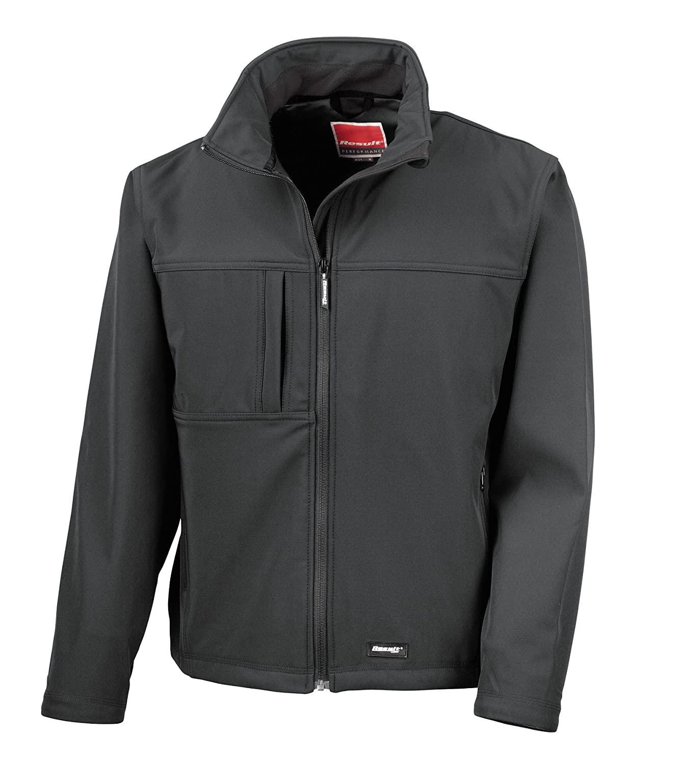 Result Classic Soft Shell Jacket Black XL