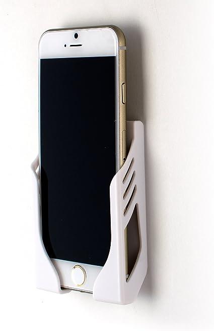 Dockem Damage Free Wall Mount For Iphone 11 11 Pro 11 Pro Max Xs X Xs Max Xr 8 7 6s 6 8 Plus 7 Plus 6 6s Plus With 3m Command Strip