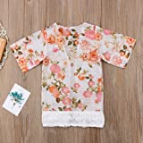 Baby Girl Floral Printed Cardigan Short Sleeve