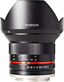 Rokinon 12mm F2.0 NCS CS Ultra Wide Angle Lens