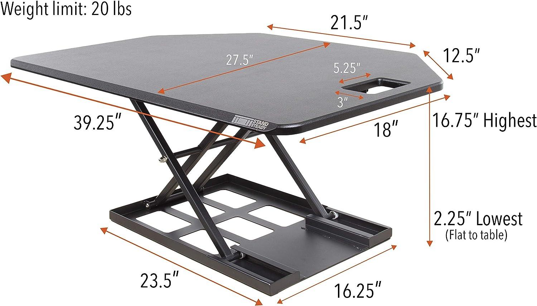 X-Elite Pro Corner Desk Converter