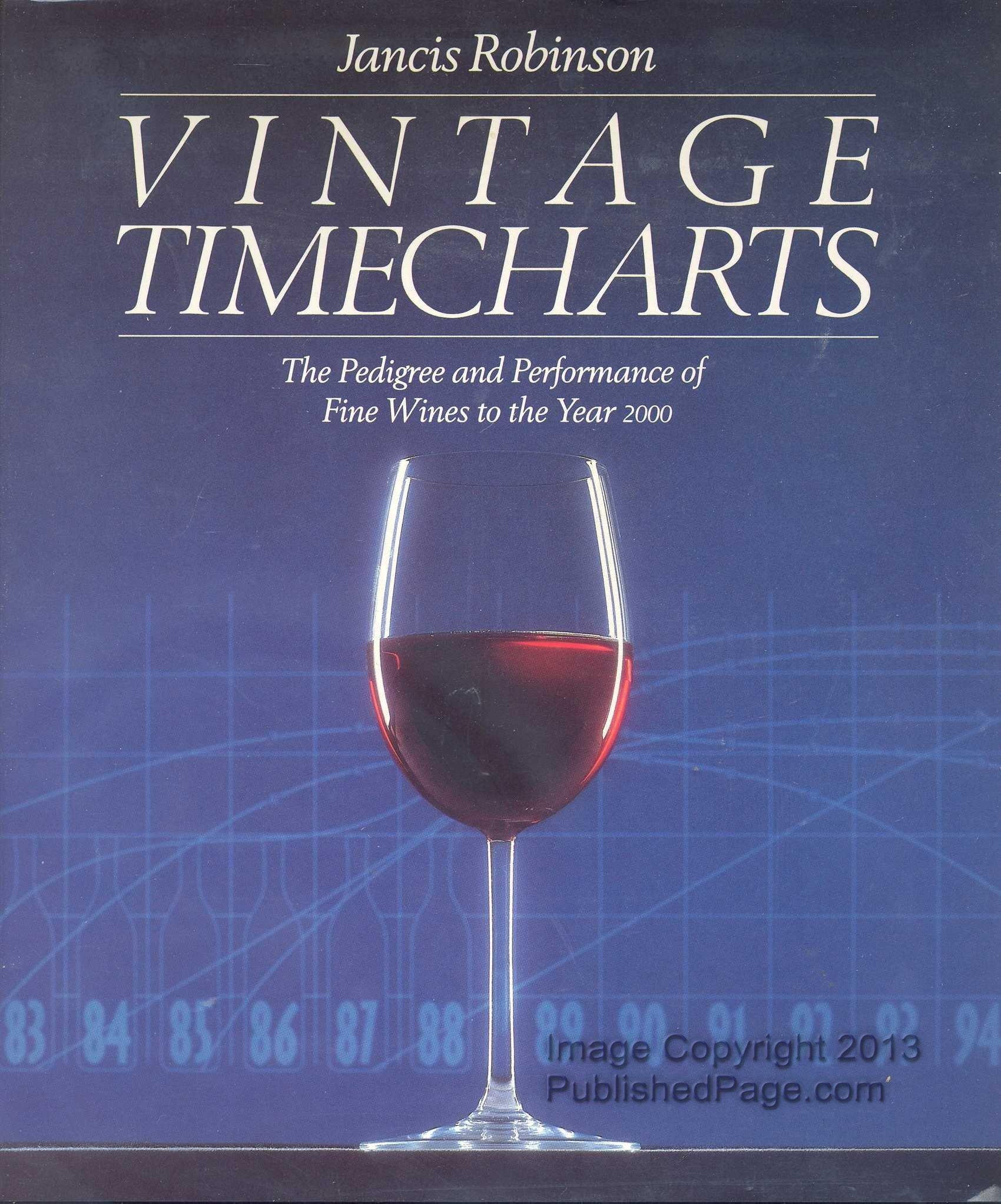 Vintage Timecharts Pedigree Performance Wines