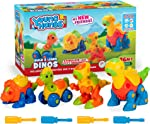 Creative Kids Build & Learn Dinosaur Take Apart Toy Set with