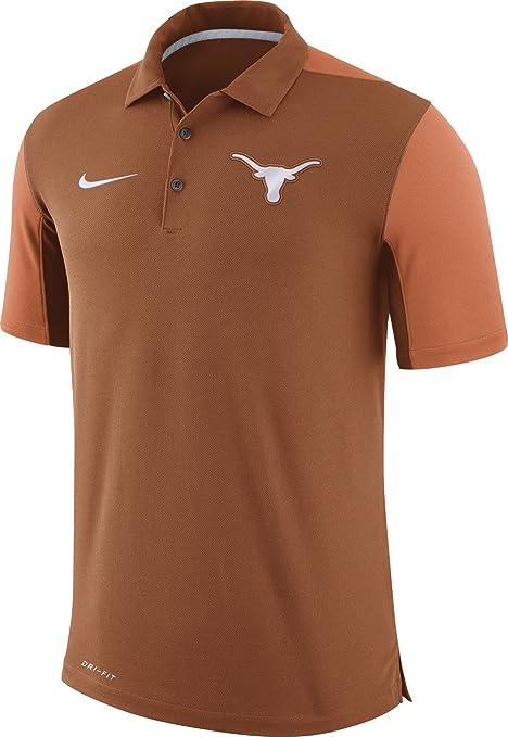 Nike Camiseta de fútbol de Texas Longhorns Color Naranja Equipo ...