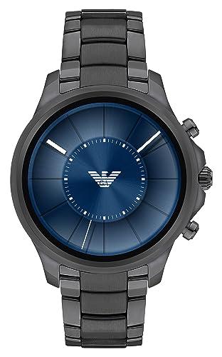 Emporio Armani Reloj Hombre de Digital con Correa en Acero Inoxidable ART5005: Amazon.es: Relojes
