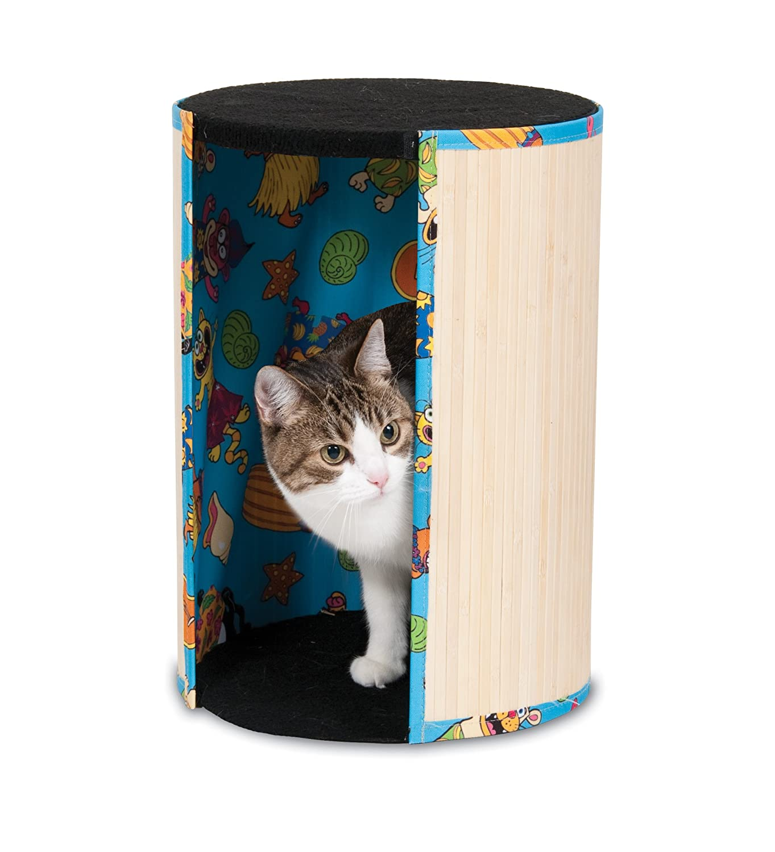 Amazon.com : PETMATE 290080 Fatc Kitty Kahuna Tiki Hut For Pets :  Scratching Pads : Pet Supplies