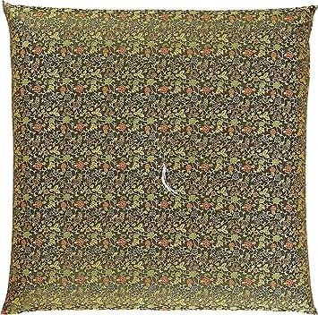 Amazon.com: Four Seasons Handmade Brocade Fabric Zabuton ...