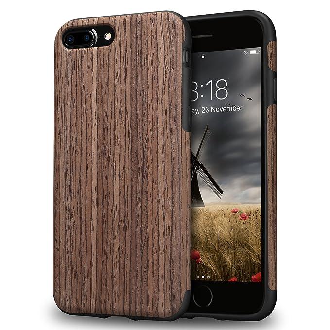 custodia iphone 8 wood
