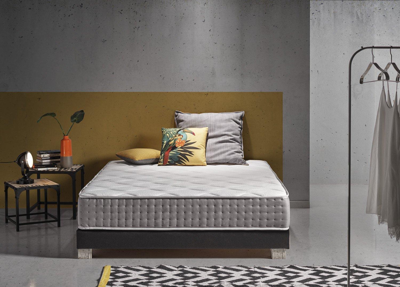 Living Sofa COLCHÓN con Sistema DE AUTOENFRIAMIENTO DE PARTÍCULAS DE GRAFENO Carbono DE ÚLTIMA GENERACIÓN 150 x 190 (Todas Las Medidas): Amazon.es: Hogar
