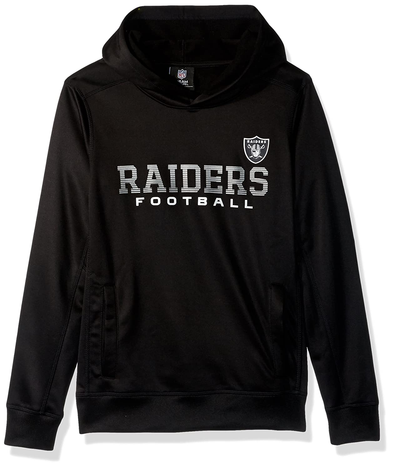48672e8b8 Amazon.com  NFL Youth Boys Next Level Performance Fleece Hood  Sports    Outdoors