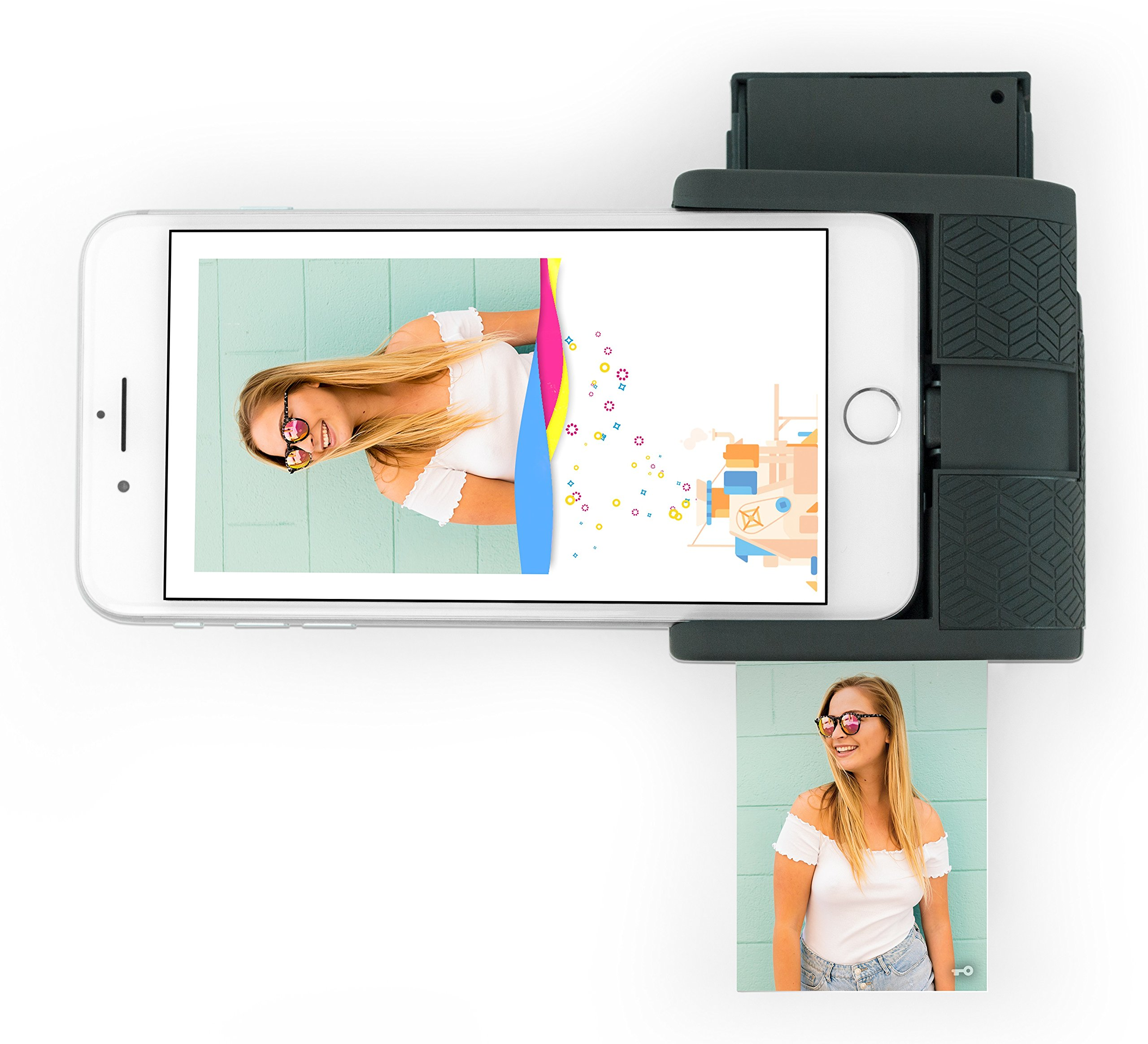 Prynt Pocket, Instant Photo Printer for iPhone - Graphite (PW310001-DG) by Prynt (Image #3)