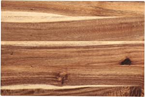 "The Pioneer Woman Cowboy Rustic All Purposed 12"" x 18"" Acacia Wood Cutting Board, Brown"