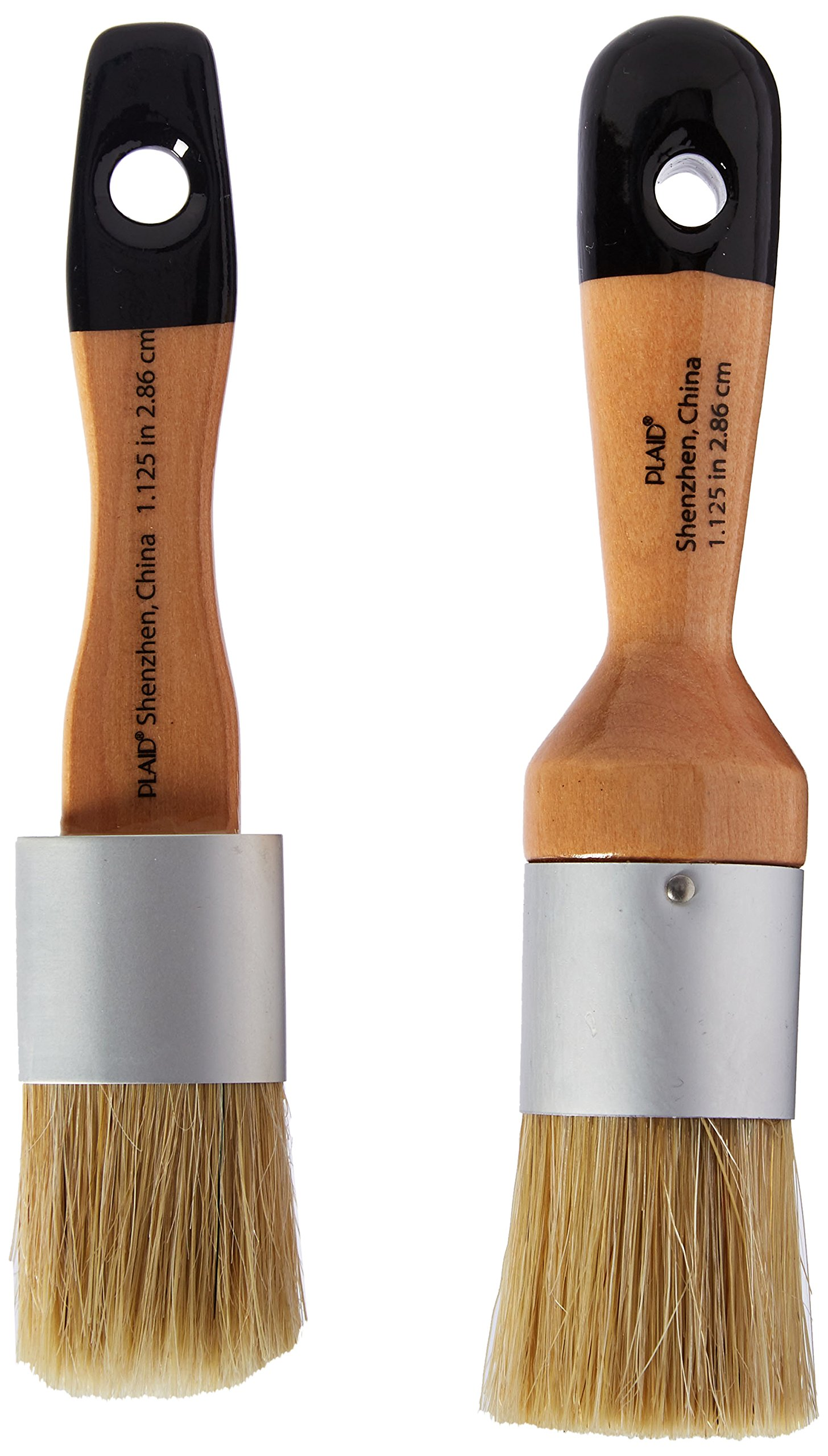 FolkArt Home Decor Chalk and Wax Brushes, 34909 by FolkArt