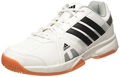 new style baa1c fa9bf Adidas Mens Net Setters Indoor WhiteCblackSilvmt Tennis Shoes - 9 UK