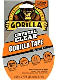 Gorilla Tape 3044701 8.2m Repair Tape with Gloss Finish - Clear