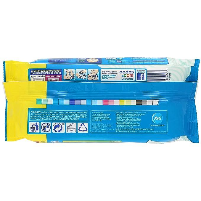 Dodot Toallitas - 1 Paquete de 64 toallitas: Amazon.es ...