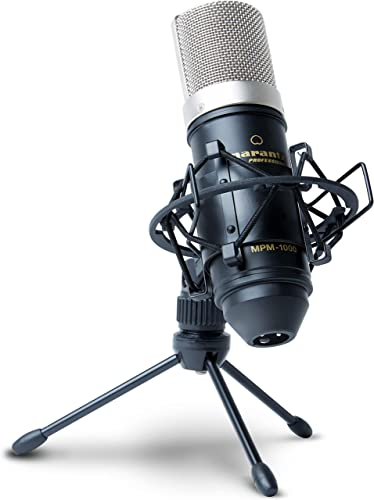Marantz Pro MPM1000 - Studio Recording Condenser Microphone with Shockmount