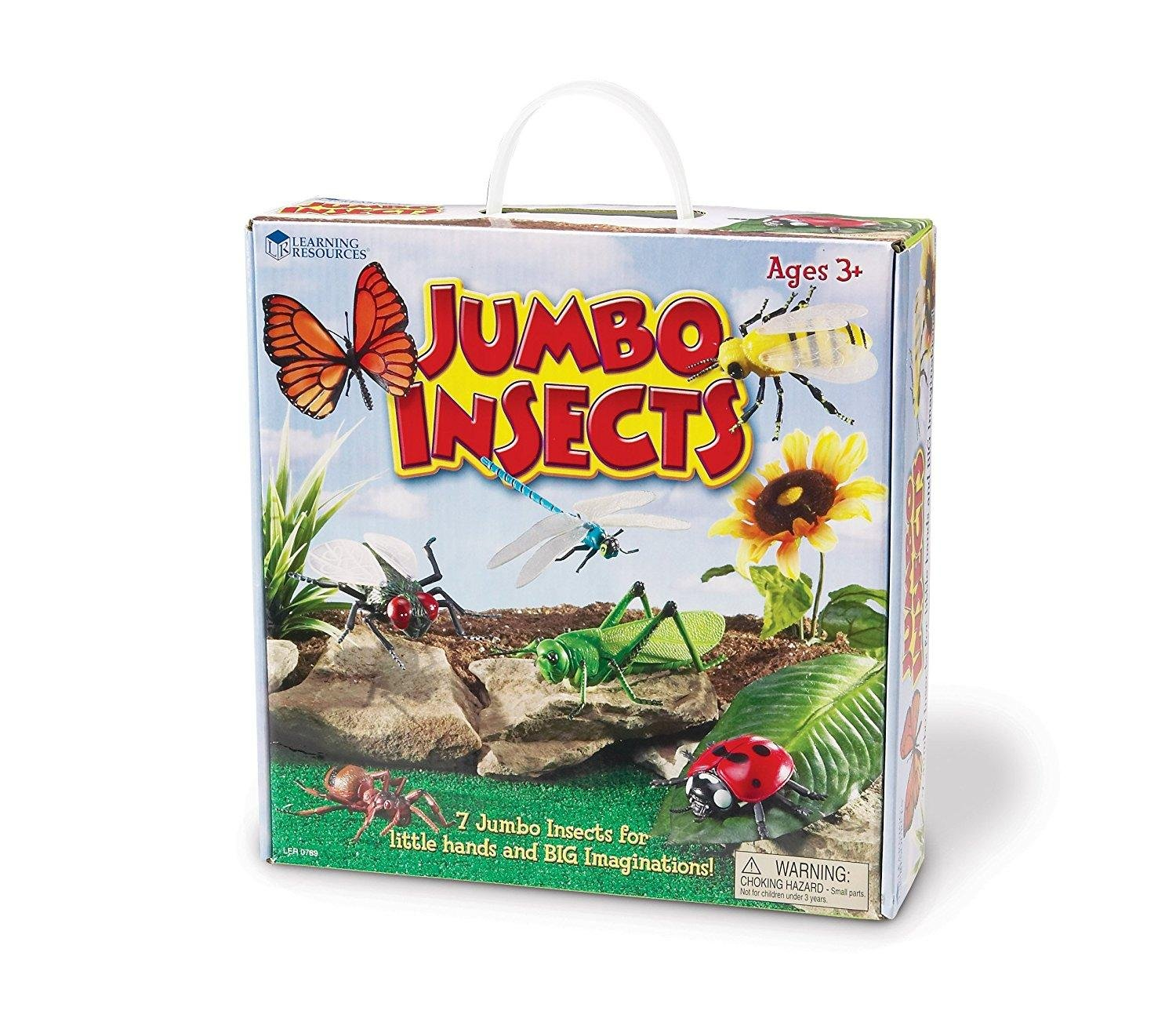Learning Resources Jumbo Insects, 7-Insects