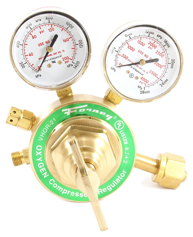 Victor Style Forney 87100 Oxygen Regulator Heavy Duty