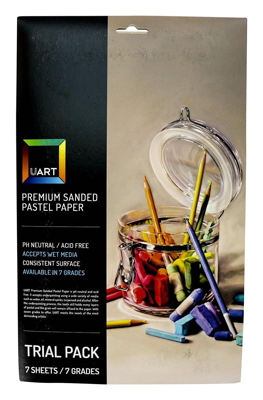 Uart Sanded Pastel Paper P-103697 Trial Pack