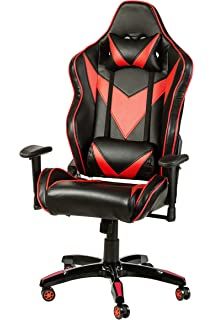 Halter Pro League Gaming Chair - Racing Game Chair w/Adjustable Height & Reclining Ergonomic