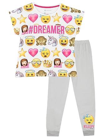 Emoji Girls Emoji Pajamas Size 14
