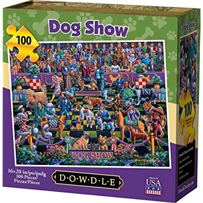 Dowdle Jigsaw Puzzle - Dog Show - 100 Piece: Toys & Games
