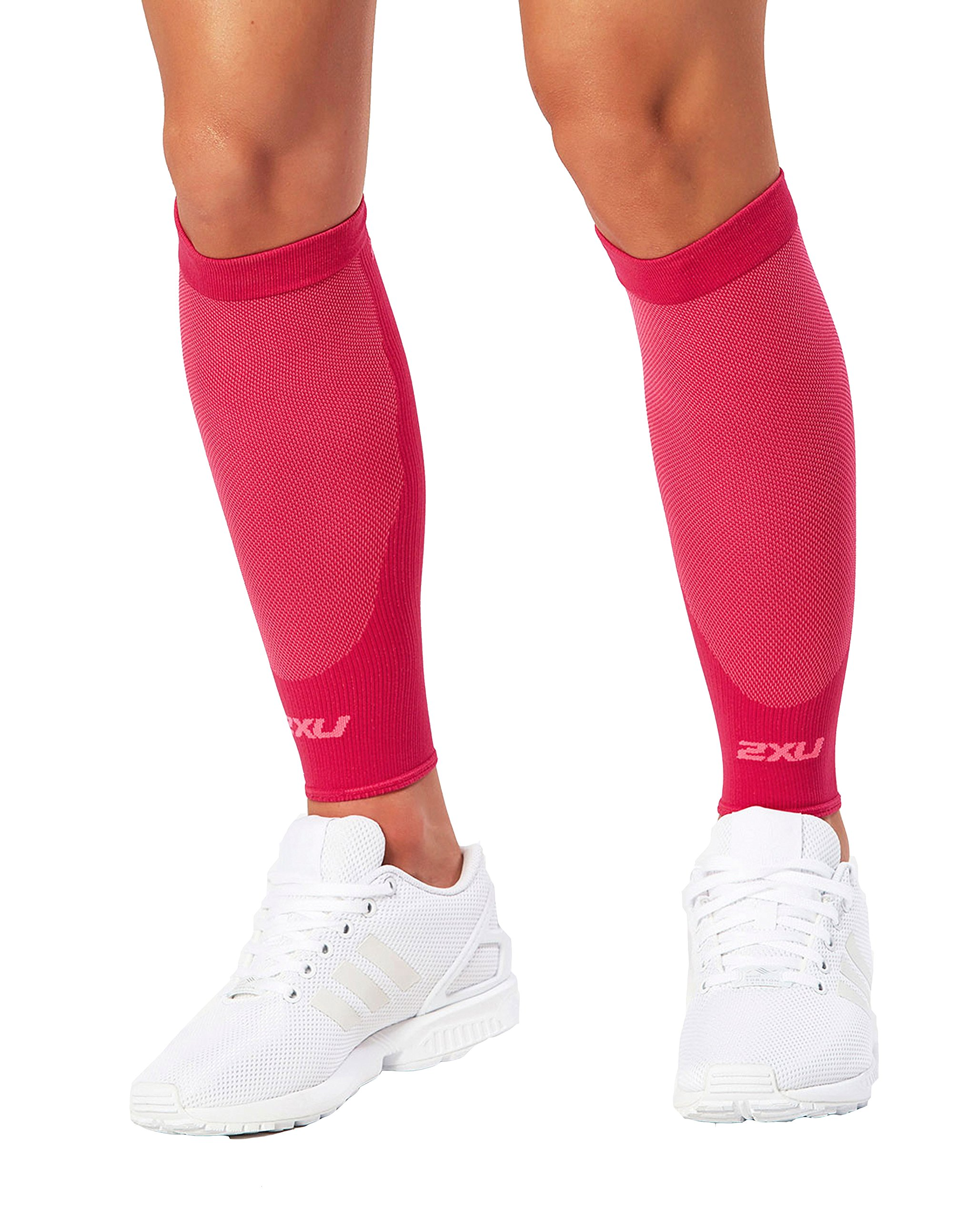 2XU Compression performance Sleeves, Hot Pink/Hot Pink, X-Small