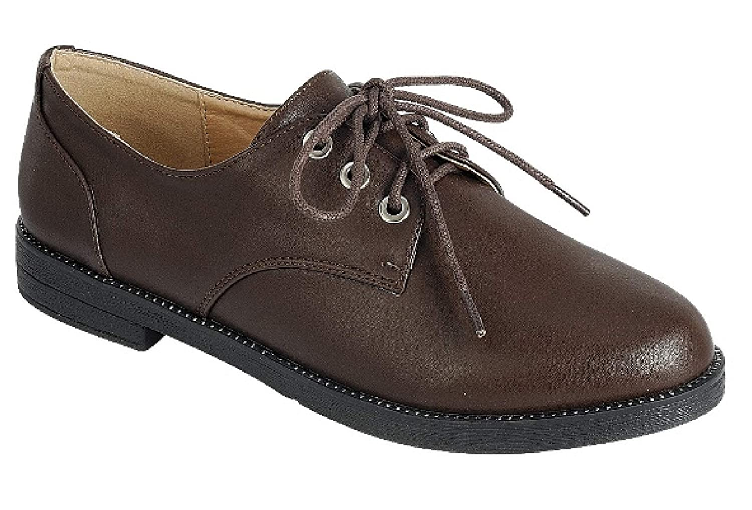 Assorted Colors Forte Top Selling Classic Oxford Lace Up for Women Ladies Teen Girls