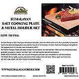 "Himalayan Chef Pink Salt Cooking Plate 8"" x 12"" x"