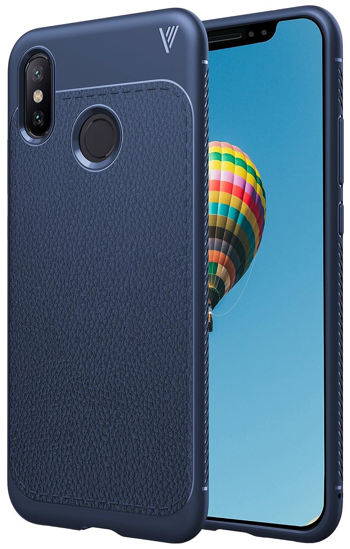 iBetter Xiaomi MI 8 Hülle, Ultra Thin Tasche Cover TPU Silikon Handyhülle Stoßfest Case Schutzhülle Shock Absorption Backcover Hüllen für Xiaomi MI 8 Smartphone (Schwarz)