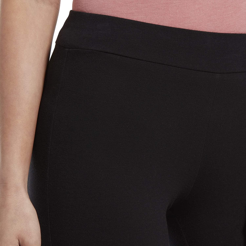 HUE Womens Wide Waistband Blackout Cotton Leggings Assorted