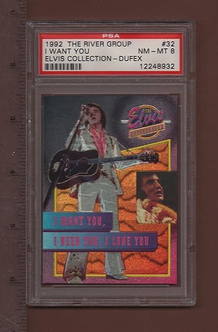 Tarjeta Dufex de la colección Elvis de 1992 con la ...
