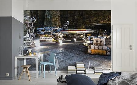 Komar 8 4000 Star Wars Rebel Base Mural Wallpaper Multi Colour 368
