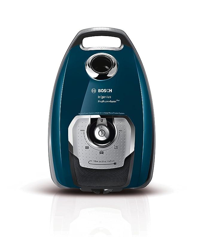 1 opinioni per Bosch BGL8508 Aspirapolvere a Carrello con Sacco, 750 W, 74 Decibel, Blu
