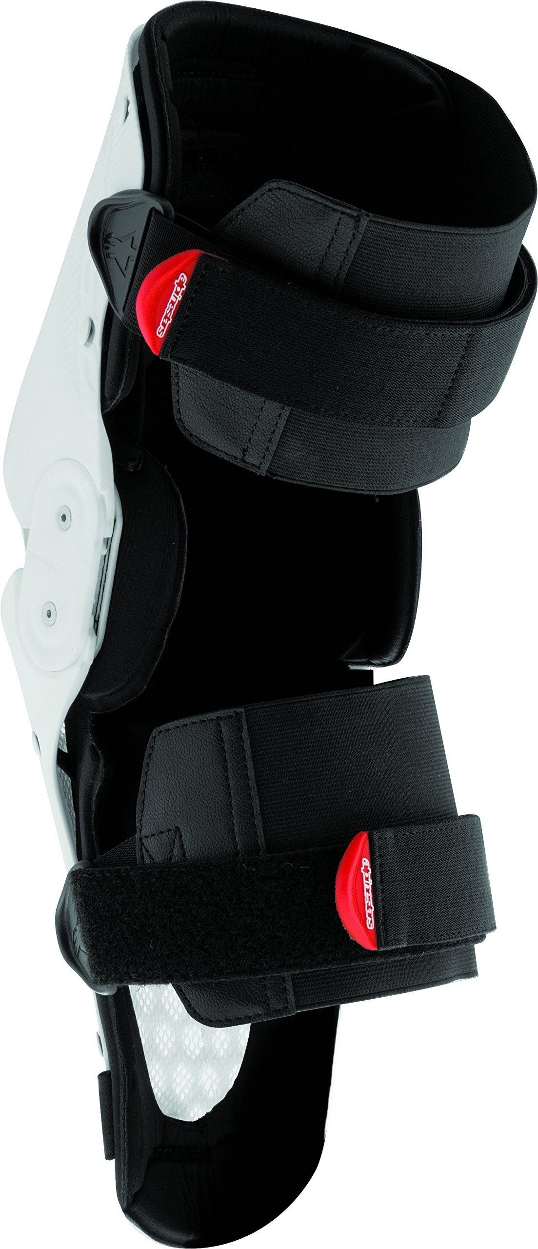 Alpinestars SX-1 Men's Knee Guard Off-Road Body Armor - White/Black/Small/Medium