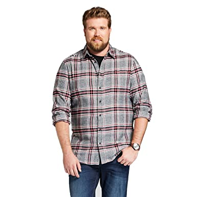 0dff5ae951f6 Image Unavailable. Image not available for. Color  Goodfellow   Co Men s  Long Sleeve Heavyweight Flannel Button-Down Shirt ...