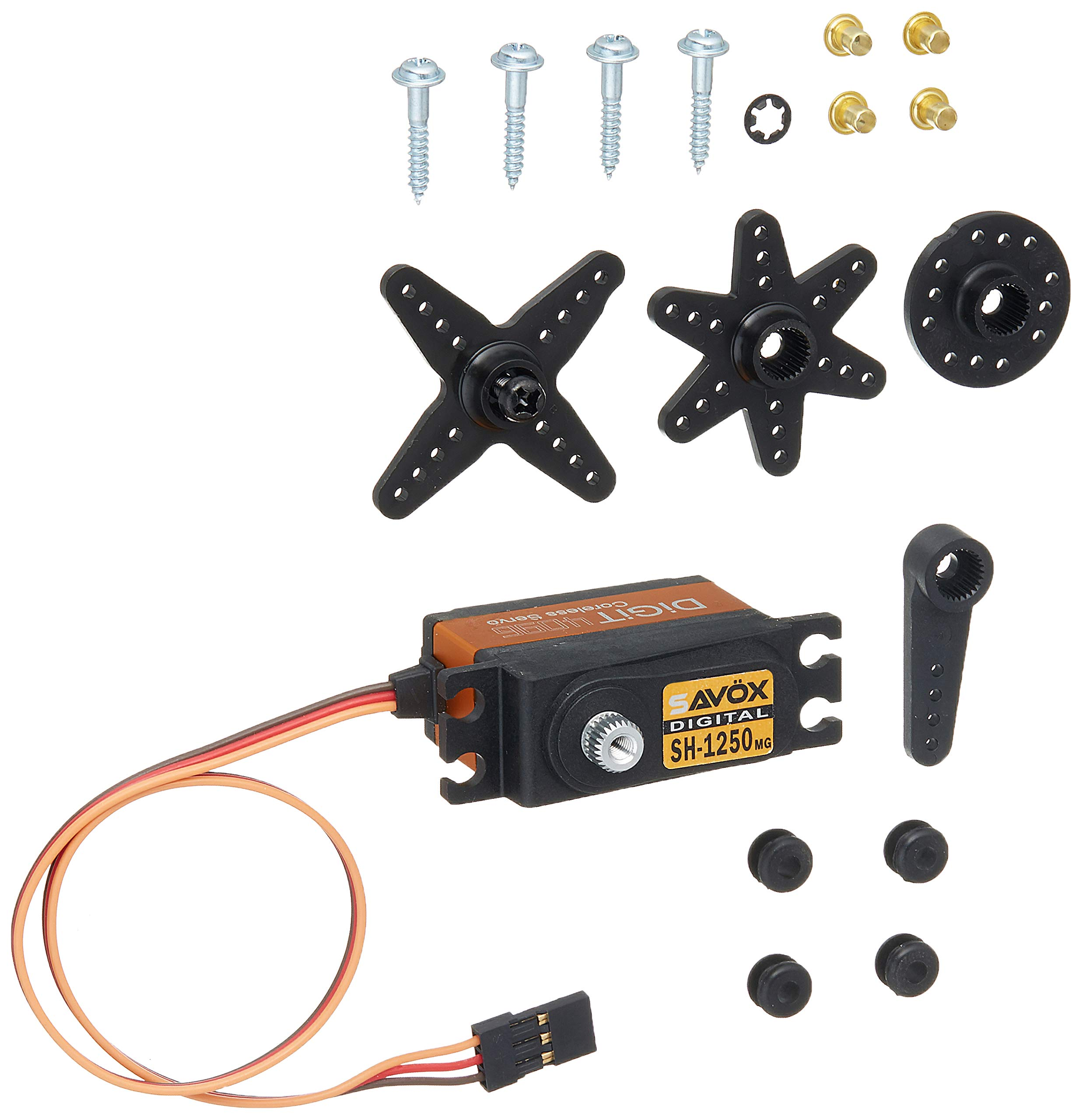 Savox SH-1250MG Super Torque Metal Gear Mini Digital Servo