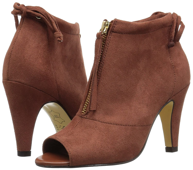Bella Vita Women's Nicky Ii Ankle Bootie B0731S23H1 12 W US|Camel Super Suede