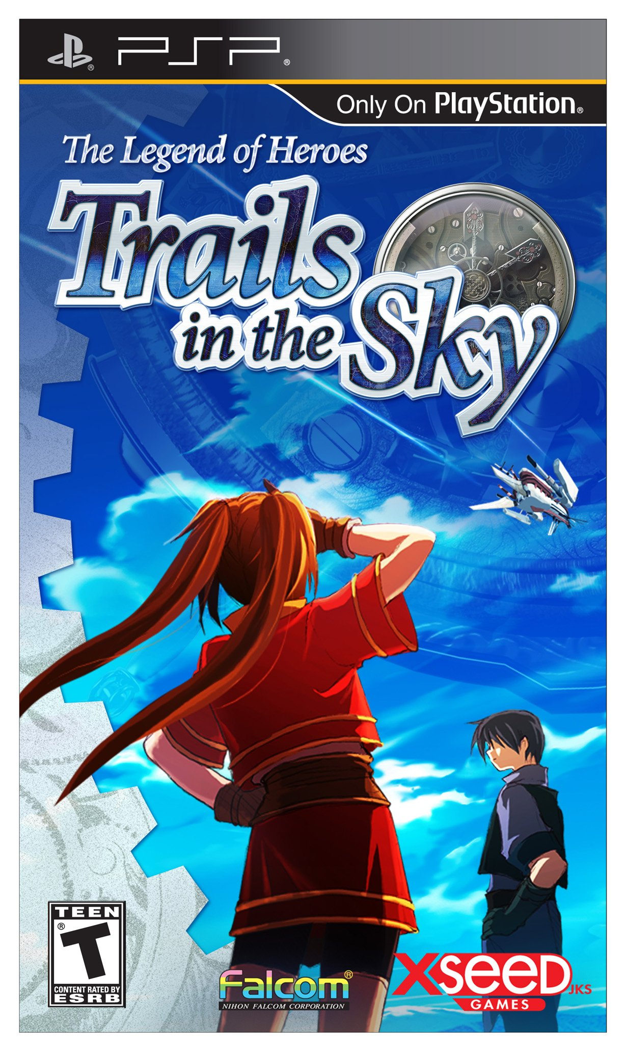 The Legend of Heroes: Trails in the Sky - Sony PSP by Xseed Games (Image #1)