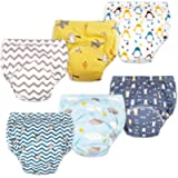 Max Shape Baby Boys Toddler Boys Potty Training Pants Underwear, Padded Cotton Pee Training Pants for Toddler Boys 6…